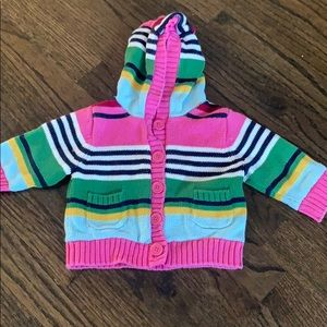 3-6mo lined Gap sweater